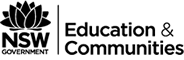 NSW Education and Communities logo